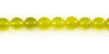 Olive Jade round beads 6mm wholesale gemstones