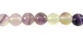 purple fluorite round beads 6mm wholesale gemstones