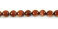 Red goldstone round beads 6mm wholesale gemstones