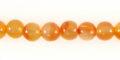 Orange Carnelian bead 6mm wholesale gemstones