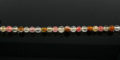 Tiger glass round beads faceted 4-4.5mm wholesale gemstones