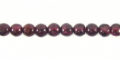 4MM GARNET ROUND wholesale gemstones