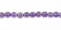 "Amethyst 4-4.5mm round beads 14.5"" wholesale gemstones"