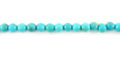 turquoise 3mm round wholesale gemstones