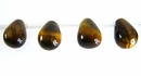 tiger eye briolette 6x9mm wholesale gemstones