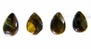 tiger eye briollete 6x8mm wholesale gemstones
