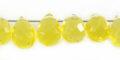 Syn.Golden Cit GlassFaceted Briolet wholesale gemstones