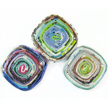 paper beads diam pend multicolor 22x22mm wholesale pendants