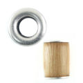 wholesale wood tube 10mmx15mm rosewood 5.5mm hole