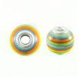 wholesale wood round multicolor