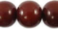 Mahogany color - large round wholesale beads
