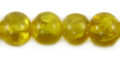 wholesale Yellow crackle - medium round