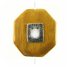 Nangka wood 35mm metal framed center hole