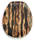 Resin Rib Inlay Pendants Top Side Drilled wholesale pendant