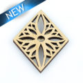 Laser cut himbabawod wood pendant 33mm