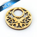 hambabalud wood laser cut pendant 34mm