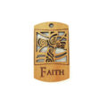 wooden charm natural-faith 43mmx25mm