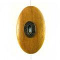 Nangka wood oval 45mm