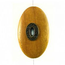 Nangka wood oval 45mm