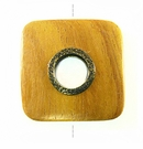 Nangka rounded edge square 35mm / A-bras