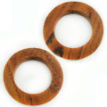 Bayong wood ring 46mm w/ 30mm ID, 6mm