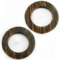 Old palm wood ring 46mm w/ 30mm ID, 6mm