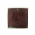 wholesale Square Capiz frame Small Plum pendants