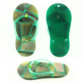 Blacklip Resin Backing Shell Inlay Slipper Design