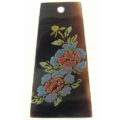 Tab Shell Kalar Blue Rose Laser Design