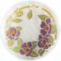 Lilac Rose Laser Design Round Makabibi