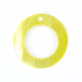 "Hammer shell ""O"" Ring 20mm Shell Beads"