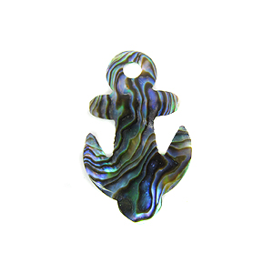 Paua Anchor Shell Pendants wholesale