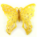 """Carved Mother of Pearl Shell """"Butterfly"""" Pendant"""