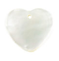 MOP heart wholesale pendant