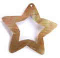 Brownlip star design wholesale pendant
