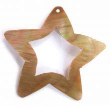 Brownlip star design wholesale pendant