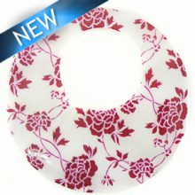 river shell rose decal print wholesale
