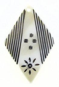 makabibi diamond with black carving wholesale