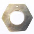 Blacklip 24mm hexagon center hole