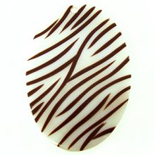makabibi oval with dark brown stripes wholesale