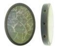 Abalone cracking 3-hole spacer wholesale