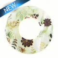 river shell garden decal print pendant 46mm wholesale