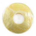 MOP donut 35mm plain wholesale pendant