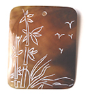 Brownpen carved rectangle-nature