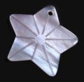 Hammershell star design wholesale pendant