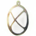 blacklip shell carved oval pendant wholesale