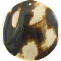 Brownlip 60mm round spotted-limited item only