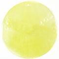 Capiz shell dyed light yellow 46mm