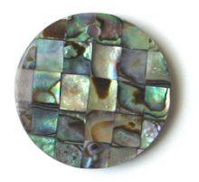 Paua shell blocking 30mm