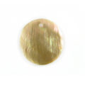Brownlip round 25mm plain wholesale pendant